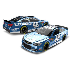 Jimmie Johnson 2013 Lowes 1:24 Scale Diecast COLOR CHROME