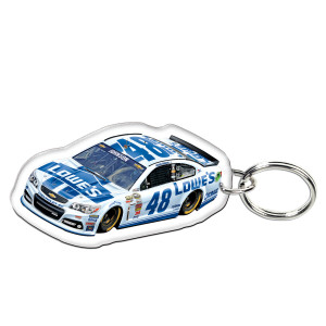 Jimmie Johnson-2014 Premium acrylic mirrored key ring
