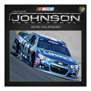 "Jimmie Johnson #482016  12""x 12"" Wall Calendar"