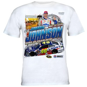 Jimmie Johnson #48 2014 Coca-Cola 600 Win T-shirt