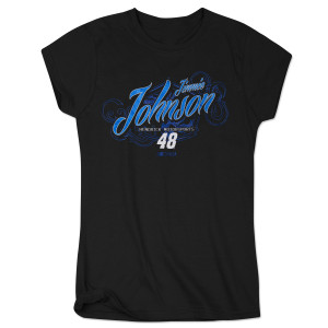 Jimmie Johnson 2015 Chase Authentics Ladies Speed Diva Tee