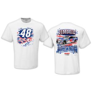 Jimmie Johnson 2015 LTD Edition EXCLUSIVE Patriotic T-shirt