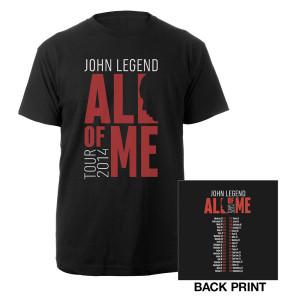 John Legend Tour Merchandise