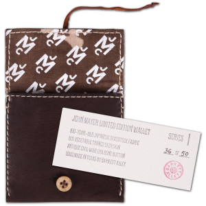 Barrett Alley X John Mayer Wallet Brown/Brown