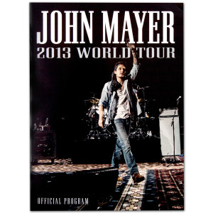John Mayer 2013 World Tour Program