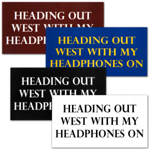 """Heading Out West"" Stickers"