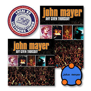 John Mayer - Any Given Thursday - CD, DVD, or VHS