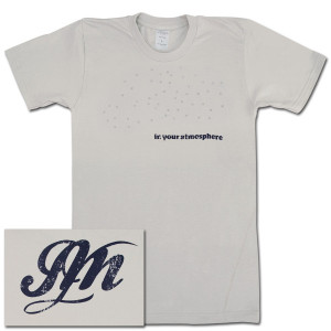 "John Mayer - ""In Your Atmosphere"" Loomstate T-Shirt"
