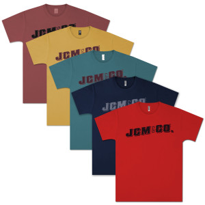JCM & Co. Logo Unisex T-shirt