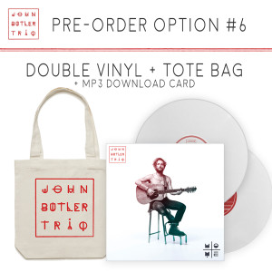 HOME Signed Double Vinyl + Tote