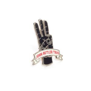 Raised Enamel Metal Pin