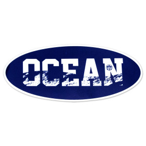 2019 Tour Ocean Oval Sticker