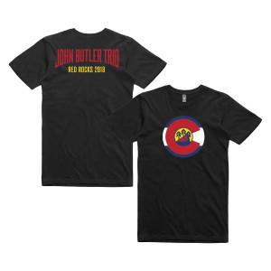 John Butler Trio Red Rocks 2018 T-shirt