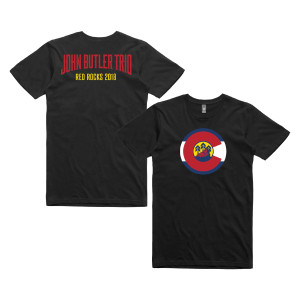 John Butler Trio Red Rocks 2018 T-shirt