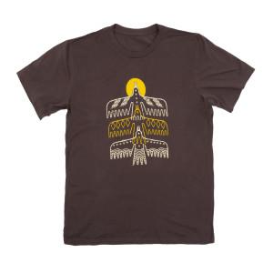 HOME Tour Dateback Brown Unisex Shirt