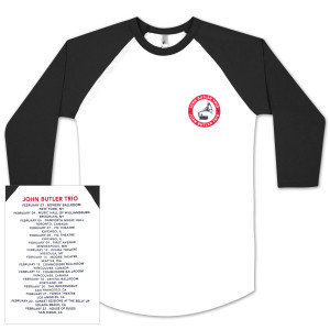 Flesh & Blood Tour Baseball Raglan Tee