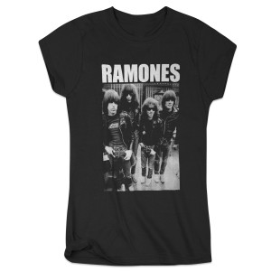 Ramones Women's Band Photo T-Shirt