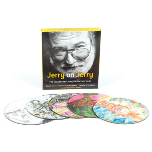 Jerry on Jerry The Unpublished Jerry Garcia Interviews Audiobook & eBook (5-CDs)