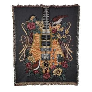 Wolf Guitar Blanket