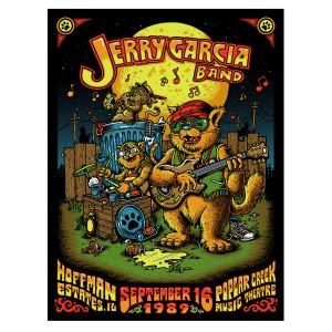 Jerry Garcia - GarciaLive Volume 13 Poster