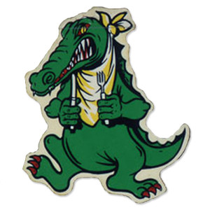 Jerry Garcia Alligator Sticker