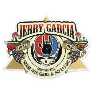 Jerry Garcia Fare Thee Well Sticker