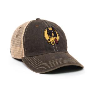 Jerry Garcia Wolf Mesh Snapback Hat