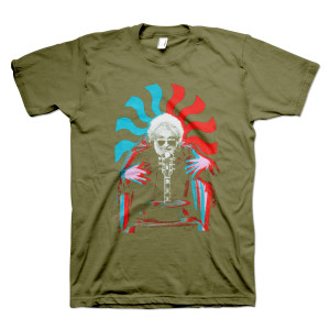 3D Jerry Organic T-Shirt