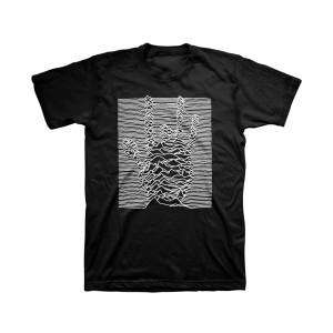 Electromagnetic Handprint Organic T-Shirt