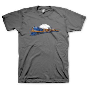 Jerry Garcia Freight Train T-Shirt