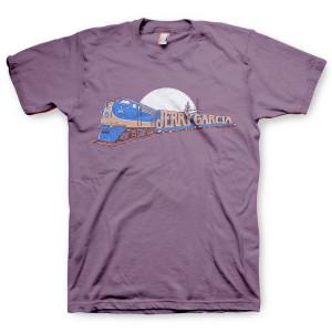 Jerry Garcia Freight Train T-Shirt Orange