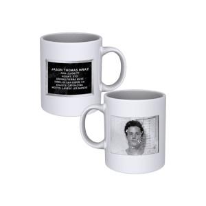 Jason Mraz Mug Shot Mug