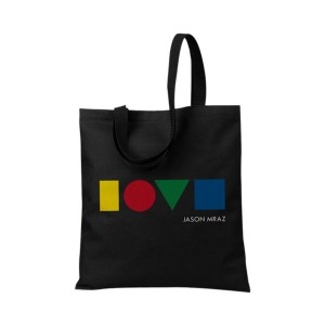 Jason Mraz Love is a Four Letter Word Tote