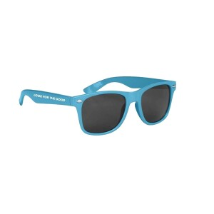 Look For The Good Sunglasses - Light Blue