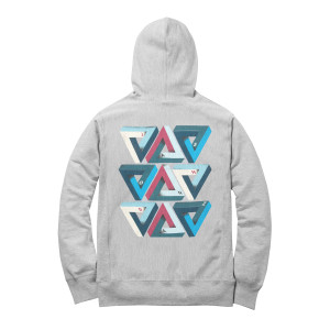Triangles Pullover Women's/Juniors Hoodie