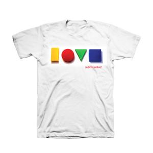 Jason Mraz Love Album Cover T-shirt