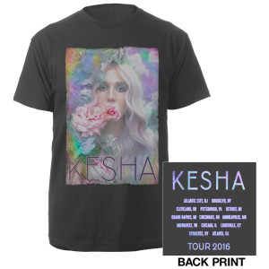 Kesha Flower Tour Tee