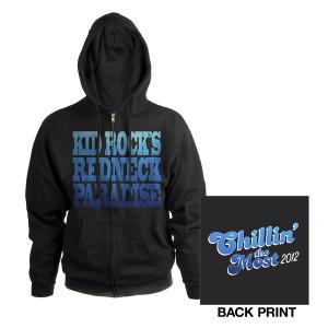 Kid Rock Chillin' The Most Zip Hoodie