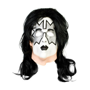 KISS Deluxe Spaceman Latex Mask