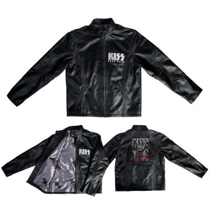 KISS Road Crew Leather Jacket