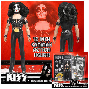 """KISS """"12 Catman Action Figure"""