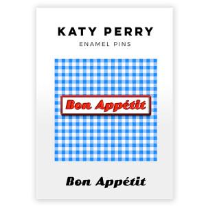 Bon Appetit Enamel Pin