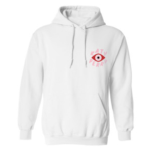 Katy Perry Tour Triptych White Hoodie