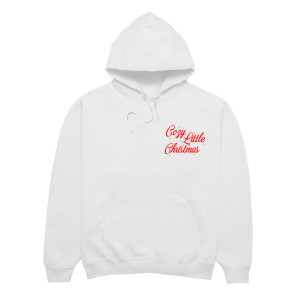 Cozy Little Christmas White Hoodie