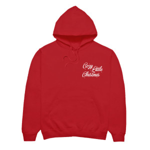 Cozy Little Christmas Red Hoodie