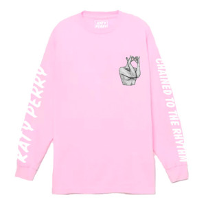 Katy Perry Chained Pink Long Sleeve T-shirt