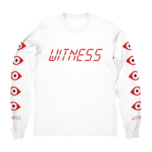 Red Witness Logo Longsleeve Tee