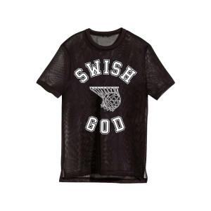 Katy Perry Tour Swish Black Mesh T-shirt