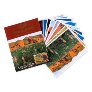 Red Rocks Postcard Packet