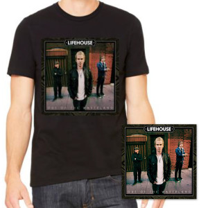Lifehouse Out of the Wasteland T-Shirt Bundle